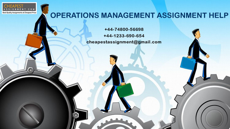opeartions management assignment