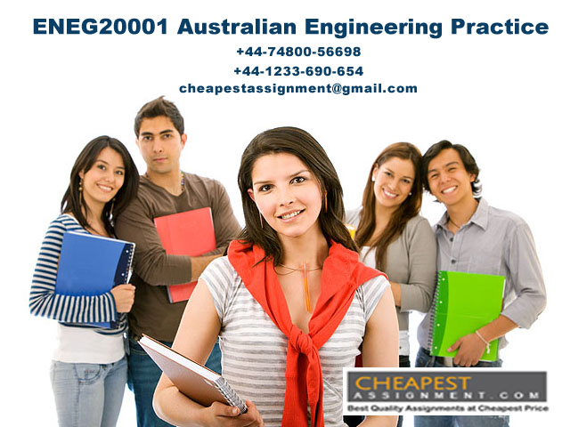 ENEG20001 Australian Engineering Practice