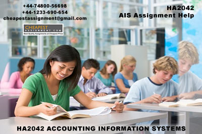HA2042 ACCOUNTING INFORMATION SYSTEMS