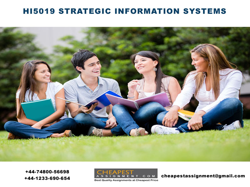 HI5019 STRATEGIC INFORMATION SYSTEMS