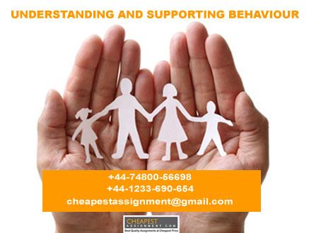 EDU20004: Understanding and Supporting Behaviour