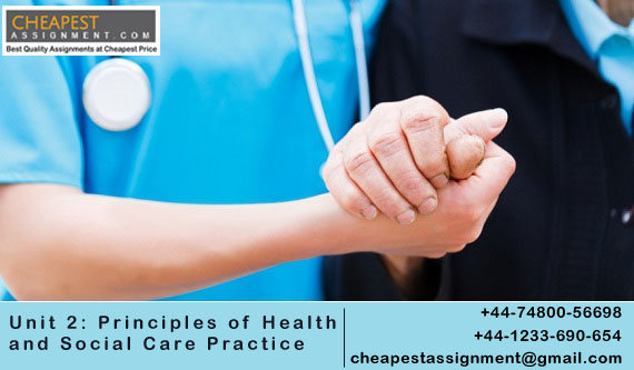 Unit 2: Principles of Health and Social Care Practice