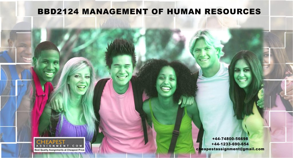 BBD2124 Management of Human Resources
