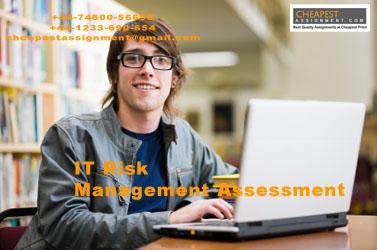 IT Risk Management Assessment