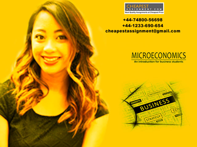 Get Best microeconomics assignment Help from Cheapest Assignment