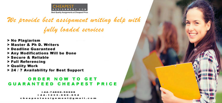 Homework Problems? Cheapestassignment.Com Is The One Stop Solution For All Your Assignments