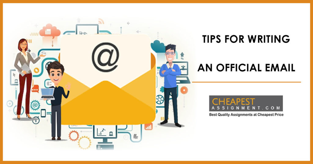 8 Tips for writing an official email